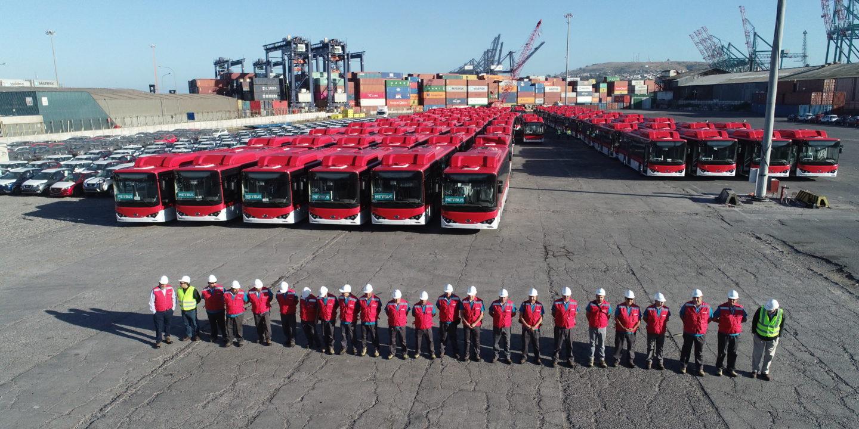 Santiago buses
