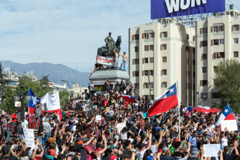 Protests in Chile present big challenges for Piñera's government ahead of APEC, COP25
