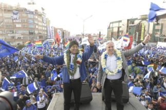 Evo Morales eleccion