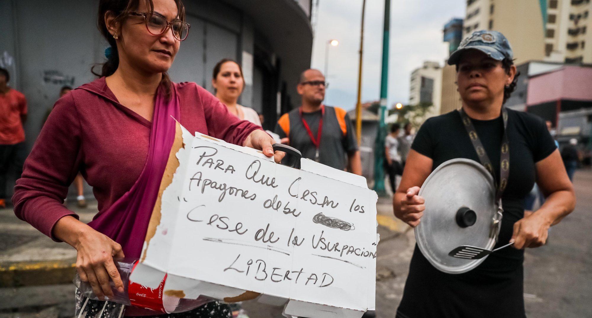 Venezuela electricity crisis blackouts