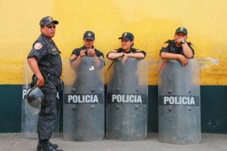 Peru police China mining las Bambas