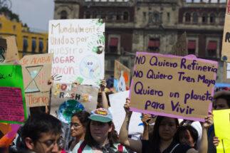 Environment protest Mayan Train
