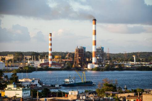 Carlos Maneul Cespedes thermoelectric plant Cuba