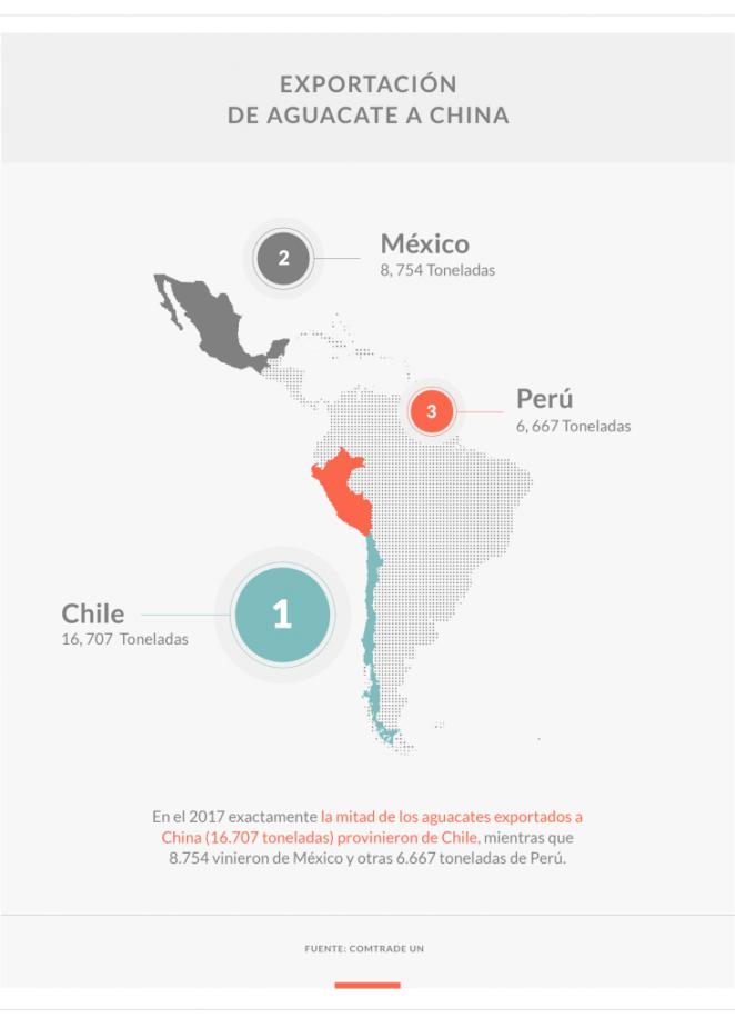 aguacate América latina